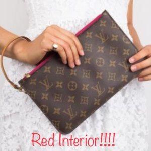 ✨NEW BEAUTIFUL WRISTLET✨Louis Vuitton Clutch